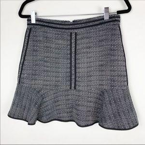 Madewell B1410 Textured Ruffle Skirt 4